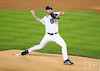 Oct 16, 2012; Detroit, MI, USA; Detroit Tigers starting pitcher Justin Verlander throws a pitch against the New York Yankees in the 1st inning during game three of the 2012 ALCS at Comerica Park.  Mandatory Credit: Tim Fuller-USA TODAY Sports