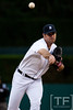Oct 6, 2012; Detroit, MI, USA; Detroit Tigers starting pitcher Justin Verlander (35) delivers a pitch during the second inning of game one of the 2012 ALDS at Comerica Park.  Mandatory Credit: Tim Fuller-US PRESSWIRE