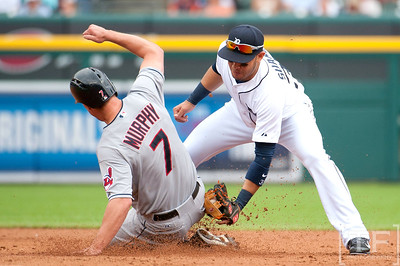 MLB: Cleveland Indians at Detroit Tigers 7/19/14