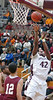 Dobyns Bennett's #42, Paul Gadson, gets behind the Oak Ridge defense for two. Photo by Ned Jilton II