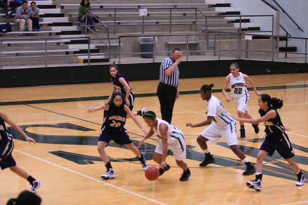SW Varsity Girls vs Laredo Alexander