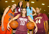 Girls elite Bball team photo by Ned Jilton II