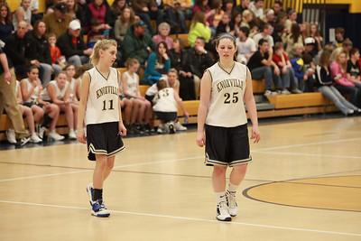KJHS 7th grade girls vs churchill 1-26-2012