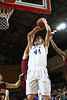 Gate City's #44 is fouled by a Graham player while trying to put up a shot. Photo by Jonathan McCoy.