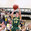 Record-Eagle/Keith King<br /> McBain's Travis Reidel shoots the ball against Lincoln-Alcona Wednesday, March 16, 2011 at Traverse City West High School.