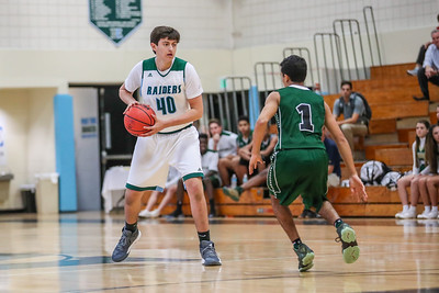 Ransom Everglades Boys Basketball.  RE played Westminster and won 39-36