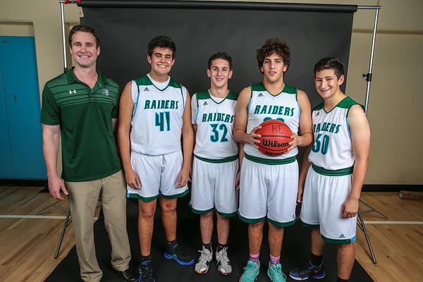 Ransom Everglades Boys Basketball Photo Shoot.