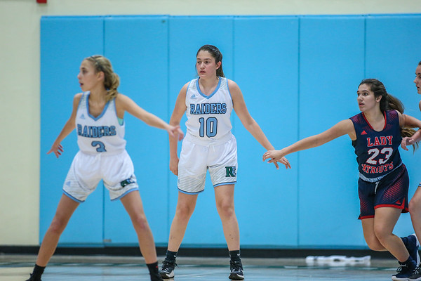 Ransom Everglades Girls' Basketball. 2018-19