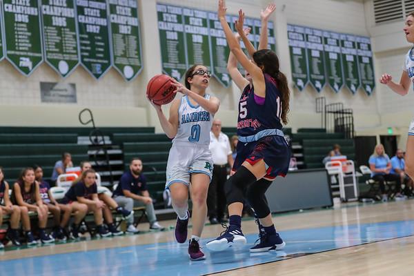 Ransom Everglades Girls' Basketball. 2018-19