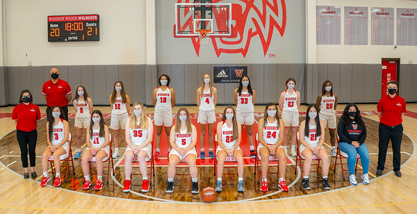 Basketball - Girls Varsity Team 2020-2021-8