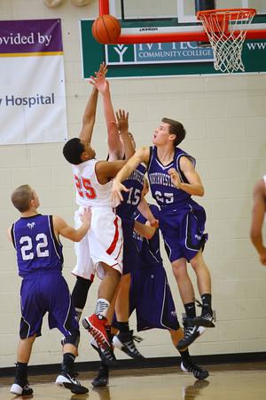 12-13-13   ---  Northwestern HS vs Taylor HS boys Basketball<br /> <br />   KT photo   Tim Bath