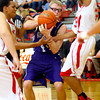 12-13-13   ---  Northwestern HS vs Taylor HS boys Basketball<br /> NW's Keagan Downey fighting for the ball after he tried to pass.<br />   KT photo | Tim Bath