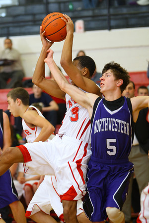 12-13-13   ---  Northwestern HS vs Taylor HS boys Basketball<br /> <br />   KT photo | Tim Bath