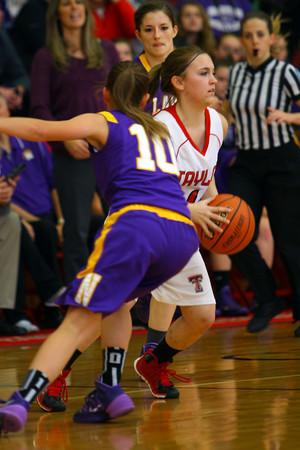 12-13-13   ---  Northwestern HS vs Taylor HS Girls Basketball<br /> <br />   KT photo | Tim Bath