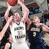 Record-Eagle/Douglas Tesner<br /> <br /> Boys Basketball St Francis vs Gaylord