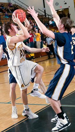 Record-Eagle/Douglas Tesner<br /> <br /> Basketball TCC vs Cadillac