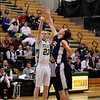 Record-Eagle/Keith King<br /> Traverse City West's Walter Borkovich shoots the ball against Cadillac Tuesday, January 31, 2012 at Traverse City West High School.