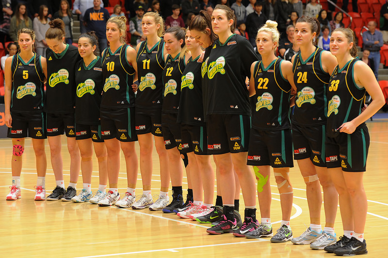 The West Coast Waves, Perth  WNBL  2013/2014 team