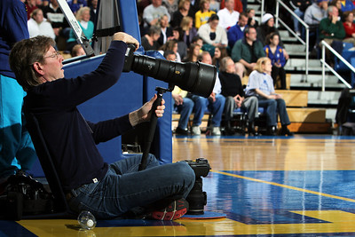 SI Photographer at the game to shoot Elena Delledonne.