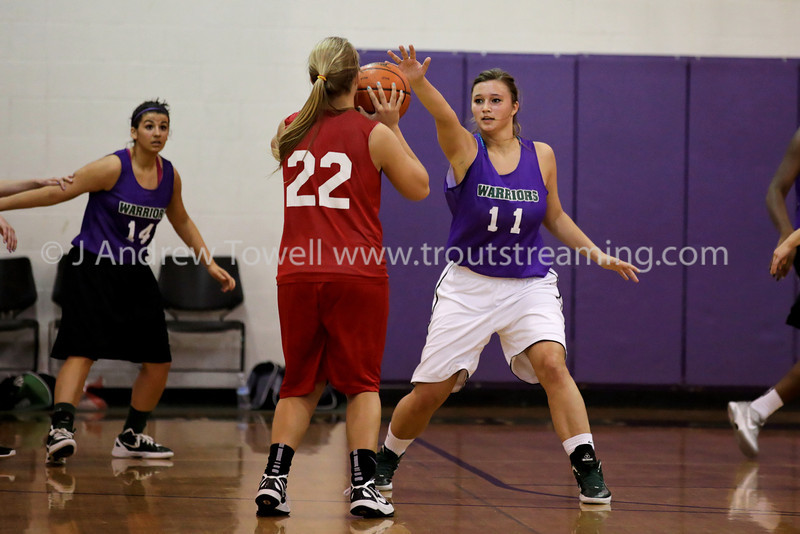 """Images from the 2012 Edmonds Woodway Warriors Varsity Girls Spring Basketballl games. 4x6 prints will be made 'as-is' and are priced accordingly, all other sizes and products will be post-processed by hand to maximize image quality. Small digital images for web use are available on request with any print purchase. Images may be used for personal viewing, but may not be used for any commercial purposes or altered in any form without the express prior written permission of the copyright holder, who can be reached at troutstreaming@gmail.com Copyright © 2012 J. Andrew Towell   <a href=""""http://www.troutstreaming.com"""">http://www.troutstreaming.com</a> ."""