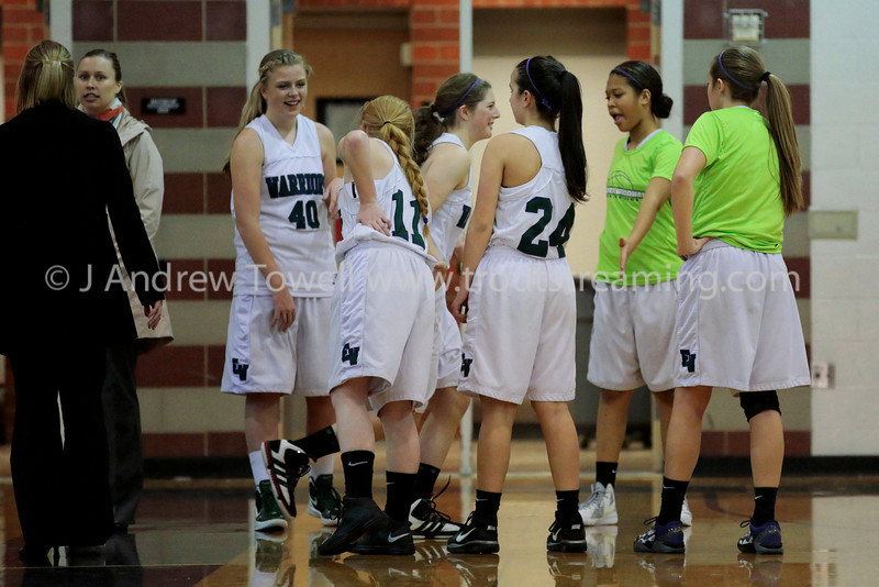 """Images from the 2012-13 Edmonds Woodway Warriors Junior Varsity Girls Basketballl games. 4x6 prints will be made 'as-is' and are priced accordingly, all other sizes and products will be post-processed by hand to maximize image quality. Small digital images for web use are available on request with any print purchase. Images may be used for personal viewing, but may not be used for any commercial purposes or altered in any form without the express prior written permission of the copyright holder, who can be reached at troutstreaming@gmail.com Copyright © 2012 J. Andrew Towell   <a href=""""http://www.troutstreaming.com"""">http://www.troutstreaming.com</a> ."""