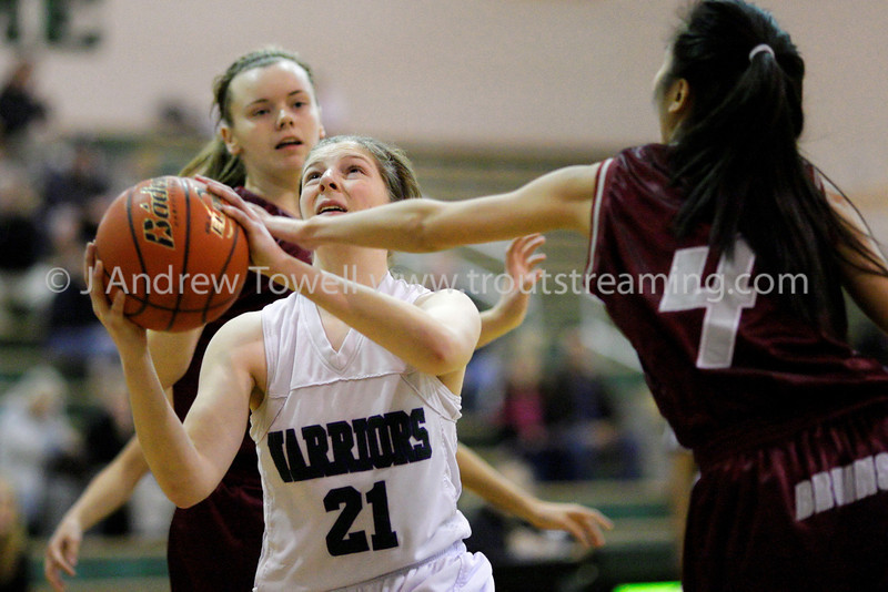 "Images from the 2012-13 Edmonds-Woodway Warriors Junior Varsity Girls Basketballl games. 4x6 prints will be made 'as-is' and are priced accordingly, all other sizes and products will be post-processed by hand to maximize image quality. Small digital images for web use are available on request with any print purchase. Images may be used for personal viewing, but may not be used for any commercial purposes or altered in any form without the express prior written permission of the copyright holder, who can be reached at troutstreaming@gmail.com Copyright © 2013 J. Andrew Towell   <a href=""http://www.troutstreaming.com"">http://www.troutstreaming.com</a> ."
