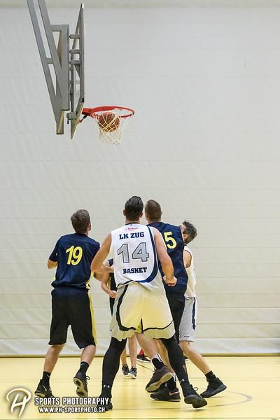 H1LRA Basketball: LK Zug Basket - KSC Wiedikon - 77:87