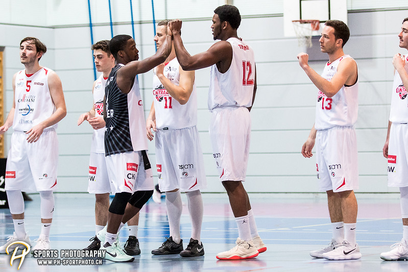 SB League: Swiss Central Basketball - Fribourg Olympic - 68:93 (49:44)