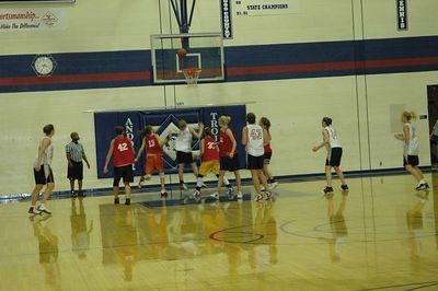 Women basketball June 2006.