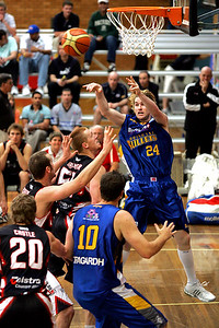 Dillon Boucher finds the open player - NBL Blitz, Coffs Harbour, 8-9 September 2006