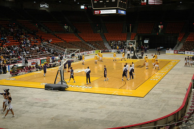 Wichita East vs SE 'Second Round at the Coliseum' Feb 14, 2008