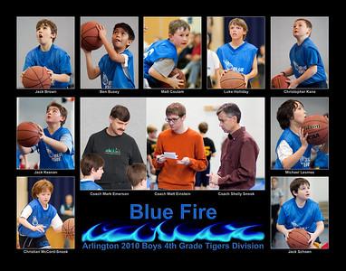 Arlington Blue Fire (12 Mar 2010)