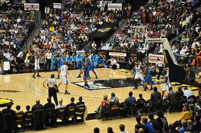 NBA In Wichita Hornets v Magic Oct 11, 2009