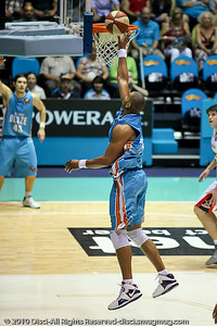 Ira Clark - Gold Coast Blaze v Perth Wildcats NBL Baskeball, New Year's Eve 2010; Gold Coast Convention & Exhibition Centre.