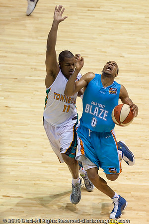 Gold Coast Blaze v Townsville Crocs NBL Basketball; 17 December 2010; Gold Coast Convention & Exhibition Centre; Queensland, Australia. Photos by Des Thureson:  http://disci.smugmug.com