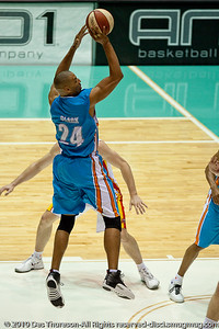 Blaze '5 Man' Ira Clark - Gold Coast Blaze v Melbourne Tigers NBL Basketball, Sunday 21 November 2010, GCCEC.