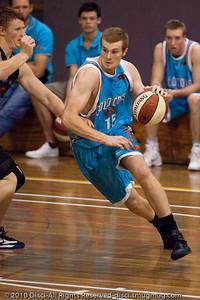 Tommy Garlepp - Gold Coast Blaze v New Zealand Breakers NBL basketball pre-season game; 4 October 2010, Carrara Stadium, Gold Coast, Queensland, Australia