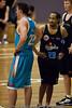 """Wot you talkin' bout Stephen!?"" - Gold Coast Blaze v New Zealand Breakers NBL basketball pre-season game; 4 October 2010, Carrara Stadium, Gold Coast, Queensland, Australia"