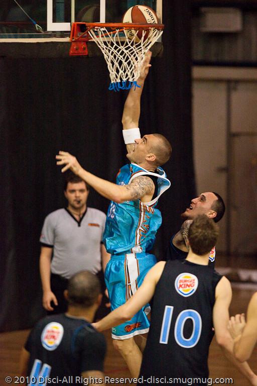 James Harvey - Gold Coast Blaze v New Zealand Breakers NBL basketball pre-season game; 4 October 2010, Carrara Stadium, Gold Coast, Queensland, Australia
