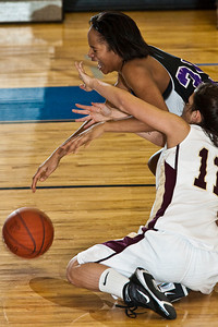 Pickerington North High School's Lady Panthers New Albany High School's Lady Eagles at Olentangy Liberty High School in the Central District Division I finals held Saturday afternoon March 6, 2010. (Photo by James D. DeCamp   http://www.OhioPhotojournalist.com   614-462-8027)