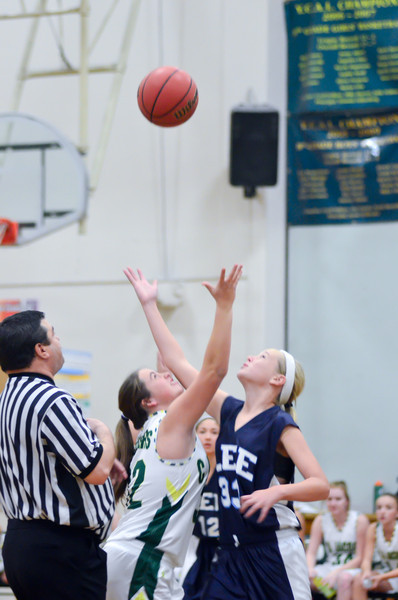 2011 CA Jacobs 7th Grade Girls vs. Lee