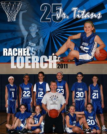 2011 Jr. Titans Girls Basketball