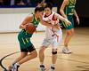 """Cayla Francis - Opals v China International Women's Basketball, Logan Metro Sports Centre, Crestmead, Queensland, Australia; 24 July 2011. Photos by Des Thureson:  <a href=""""http://disci.smugmug.com"""">http://disci.smugmug.com</a>."""