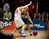 """Suzy Batkovic - Opals v China International Women's Basketball, Logan Metro Sports Centre, Crestmead, Queensland, Australia; 24 July 2011. Photos by Des Thureson:  <a href=""""http://disci.smugmug.com"""">http://disci.smugmug.com</a>."""