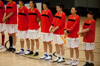 Chines Women's Basketball Team - Opals v China International Women's Basketball, Logan Metro Sports Centre, Crestmead, Queensland, Australia; 24 July 2011. Photos by Des Thureson:  http://disci.smugmug.com.