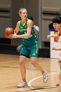 Hanna Zavecz - Opals v China International Women's Basketball, Logan Metro Sports Centre, Crestmead, Queensland, Australia; 24 July 2011. Photos by Des Thureson:  http://disci.smugmug.com.