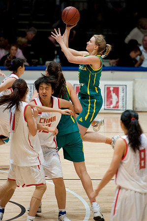 Opals v China International Women's Basketball
