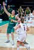 "Suzy Batkovic -Australian Opals v New Zealand Tall Ferns FIBA Oceania Championship International Women's Basketball, Brisbane Entertainment Centre, Boondall, Brisbane, Queensland, Australia; 9 September 2011. Photos by Des Thureson:  <a href=""http://disci.smugmug.com"">http://disci.smugmug.com</a>"