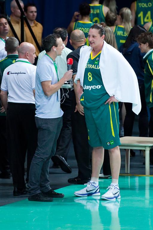 "Suzy Batkovic - Australian Opals v New Zealand Tall Ferns FIBA Oceania Championship International Women's Basketball, Brisbane Entertainment Centre, Boondall, Brisbane, Queensland, Australia; 9 September 2011. Photos by Des Thureson:  <a href=""http://disci.smugmug.com"">http://disci.smugmug.com</a>"