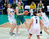 "Suzy Batkovic,  Lisa Wallbutton - Australian Opals v New Zealand Tall Ferns FIBA Oceania Championship International Women's Basketball, Brisbane Entertainment Centre, Boondall, Brisbane, Queensland, Australia; 9 September 2011. Photos by Des Thureson:  <a href=""http://disci.smugmug.com"">http://disci.smugmug.com</a>"